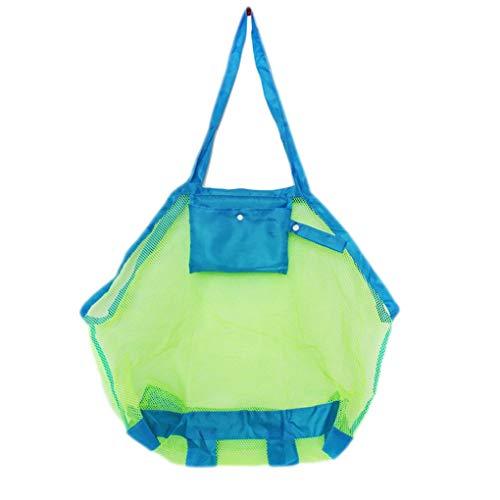 Royalr Faltbare große Kapazitäts-Mesh-Schultertasche Einkaufs Strand-Spielzeug-Taschen-Handtaschen-Dame-Beutel-Badeanzug-Speicher-Organisator