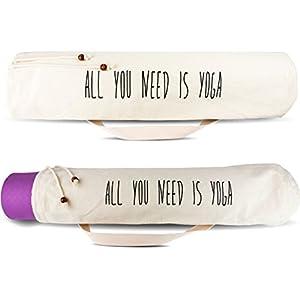 Yogatasche – 100% Baumwolle – Yogabag – Perfekter Schutz für deine Yogamatte