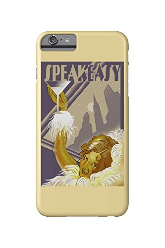 Speakeasy - Flapper Girl (iPhone 6 Plus Cell Phone Case, Slim Barely There)