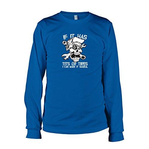 TEXLAB - Make it Squeal - Herren Langarm T-Shirt, Größe XXL, (States United Kostüm Marine)