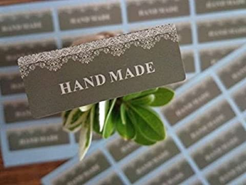 Hand Made Seal Sticker for Card-Making / Gift Wrap / Craft and Scrapbooking (200)