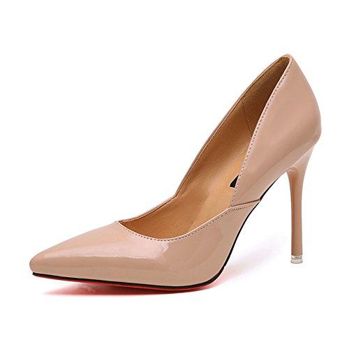 automne asakuchi talons aiguilles/European wind Club chaussures pointues/Fashion shoes A