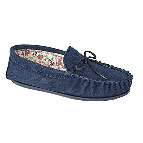 Mokkers Lily - Chaussons style mocassins - Femme Pierre