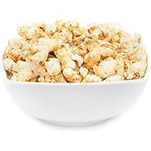 Karibisches Popcorn mit Urlaubs-Flair, süße Geschmacks-Komposition mit Karamell, Partysnack mit exotischer Geschmacksvariation