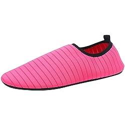 ZahuihuiM Femmes Hommes Chaussures d'eau Douce Chaussures Pieds Nus à séchage Rapide Aqua Plage Swim Surf Chaussures d'exercice