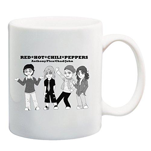Red Hot Chili Peppers-Tazza, motivo: fascia