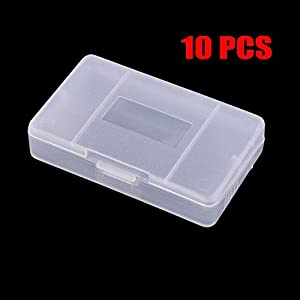 Childhood Clear Schutz Spiel Fall Dust Cover für Gameboy Advance GBA Pack 10PCS