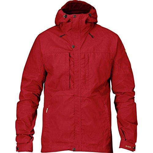 Fjällräven Herren Skogsö Jacket Softshelljacke Deep Red