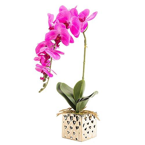 clocolor-flores-artificiales-de-orquideas-de-alta-calidad-para-decoracion-hogar-de-fiestas-rojo