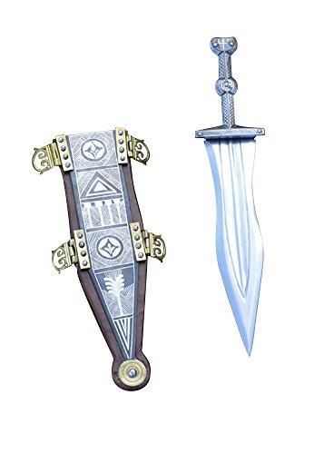 Hochwertiger Pugio aus Vindonissa mit Silbertauschierung Offizierdolch Dolch LARP Ritter Samurai Mittelalter Verkauf ab 18 Jahren (Samurai Für Anzüge Verkauf)