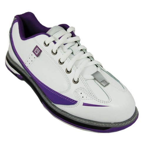 Brunswick Damen Bowling-Schuhe Curve Weiß weiß US 8.5, UK 6