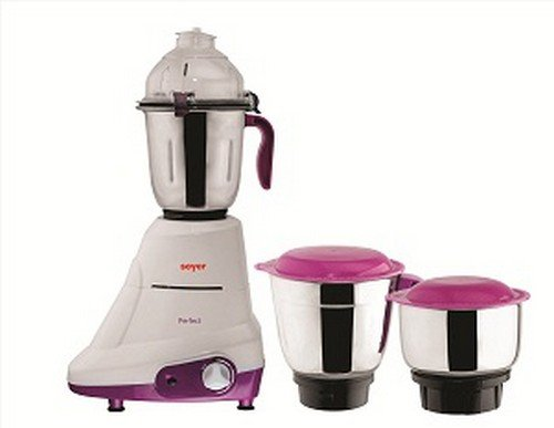 Soyer Mg750 750-watt Perfect Series Mixer Grinder (white/purple)
