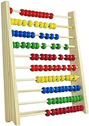 N-B Juguetes de ábaco de Madera para niños, Juguetes de Aprendizaje de educación matemática temprana, Cuentas