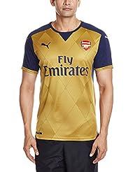 Puma  AFC Alternate Replica Shirt with Sponsor Logo - Camiseta / camisa deportiva para hombre, color negro, talla M