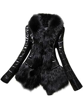 ropa de mujer otoño invierno abrigo chaqueta,RETUROM nuevas mujeres del diseño del cuero caliente de espesor la...