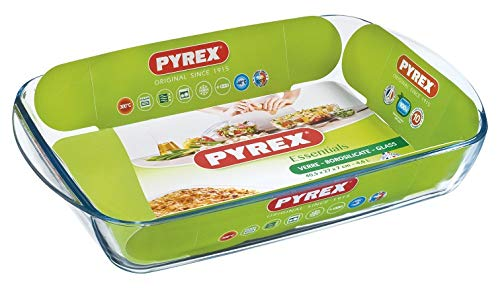 Pyrex - Essentials - Plat Rectangulaire en Verre 40x27 cm