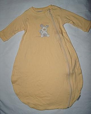 JACKY Verano Saco de dormir con mangas largas Color Amarillo Claro