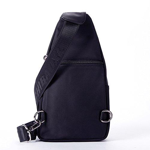 Bust Nylon Tessuto da viaggio viaggio respirabile portatile 30 * 17 * 7 borsa grande Messenger Bag Corset , 762 army green 6353 blue