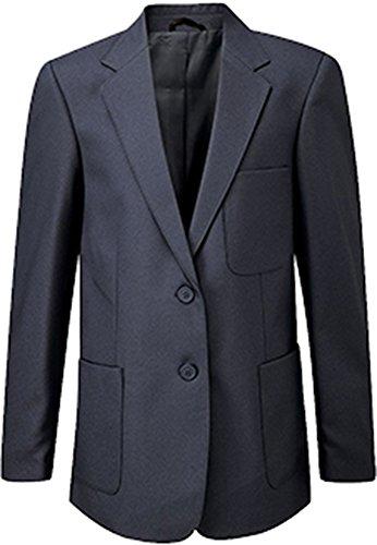 Blue Max ragazze scuola uniforme Giacca Viscount due Button Zip Entrata Blazer Royal 24 EU