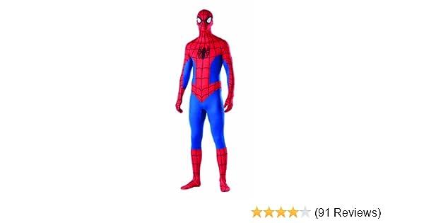 LICENSED ADULT MENS PLUS SIZE SPIDERMAN SPIDER MAN FANCY DRESS HALLOWEEN COSTUME