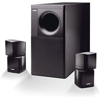 bose acoustimass 5 stereo lautsprecher system bis 200 watt amplifier schwarz. Black Bedroom Furniture Sets. Home Design Ideas