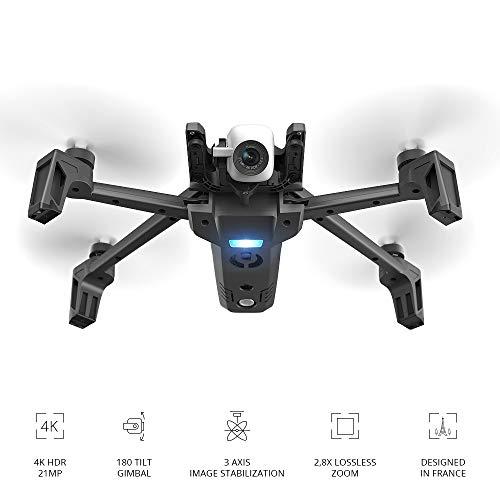 Parrot Anafi Base Drone con Videocamera HDR 4K con Gimbal con Inclinazione a 180°, Nero - 4