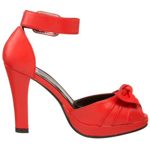 T.U.K.Vintage - Fascia Alla Caviglia Donna Rosso