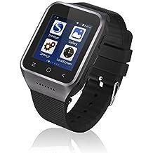 zgpax S8Android 4.4Dual Core Smart reloj teléfono móvil, pantalla táctil, 3G WCDMA multipunto 1.54inch LG, Bluetooth 4.0, Bulit-in GPS, cámara de 2m