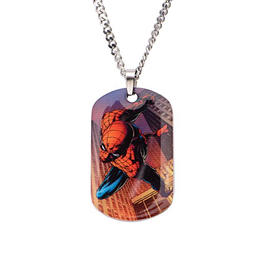 Marvel Spiderman Dogtag CLR Coat PNK
