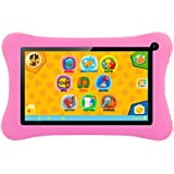 iZKA® - Tabstar Kid's Tablet PC 7 Inch Android 4.2.2 Dual Core 4GB Dual Camera Wifi and Pre-Loaded Games with Built in Microphone - Parental Controls For Added Safety - (Pink)