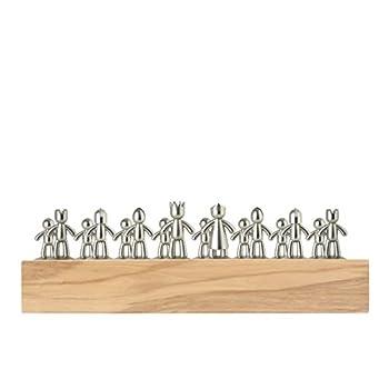 Umbra Buddy Chess Set, Wood, Natural, 35.56 x 35.56 x 11.76 cm