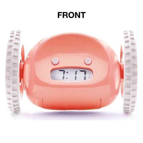 Clocky Despertador Original Rueda   Niños Adultos