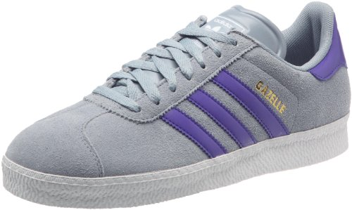 2 Bianco Scuro D'argento Scarpe Sneaker Uomo Adidas Gazzella Viola Originals Lifestyle Moda wPqIE4C