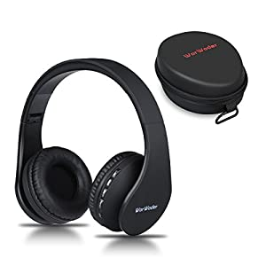 Bluetooth Kopfh?rer Over Ear, Belaidės Ausinės Stereo Wireless Bluetooth-Kopfh?rer mit Mikrofon Klappbares Design f¨¹r iPhone, Android, PC und Andere Bluetooth by WorWoder