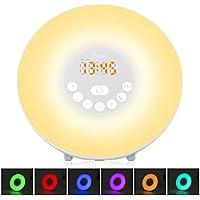 BeiLan Wecker Wake-Up LED-Leuchten FM-Radio Digitaler Bildschirm Berührungssteuerung Intelligente Schlummerfunktion... preisvergleich bei billige-tabletten.eu