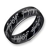 Herr der Ringe Schumann Design Ring Titan-Blackline Rg 56 2001-056