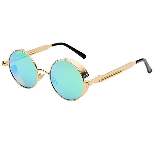 BiuTeFang Mens Sunglasses Women Trendy European and American Popular Sunglasses Retro Men and Women General Sunglasses Fashion Sunglasses