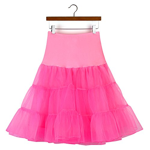 NPRADLA Einfarbig Mini A-line Rock Damen Frauen, Hohe Qualität Hohe Taille Plissee Kurzen Erwachsene Tutu Tanzen Kleider