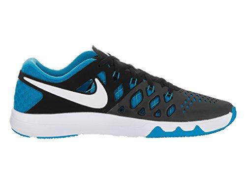 Nike 843937-002, Chaussures de Sport Homme Black/Blue Glow/Wht