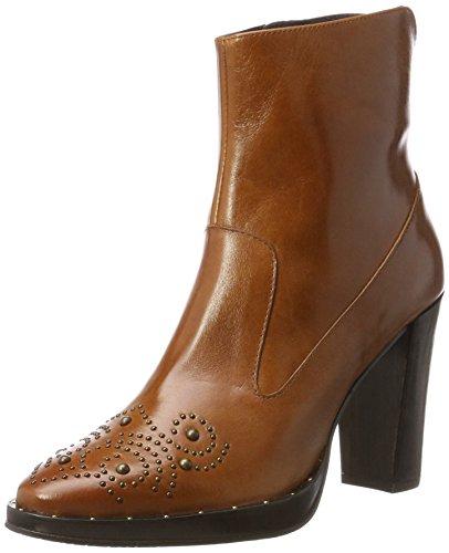 Zinda Ladies 3193 Boots Brown (coñac)