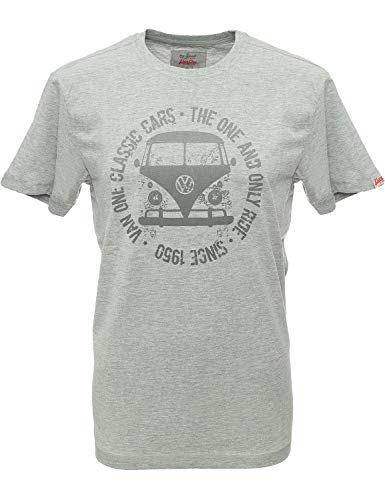 Van One Classic Cars T Shirt Herren Bulli Face Used T-Shirt Sport Outdoor -