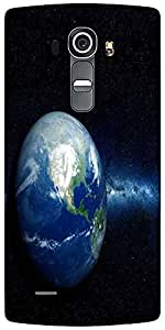 Snoogg Earth North America Designer Protective Back Case Cover For LG G4