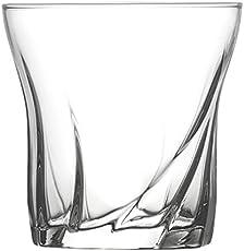 Lyra Glassware Mario Dof Drink Glass Set, 305ml, Set of 6, Transparent