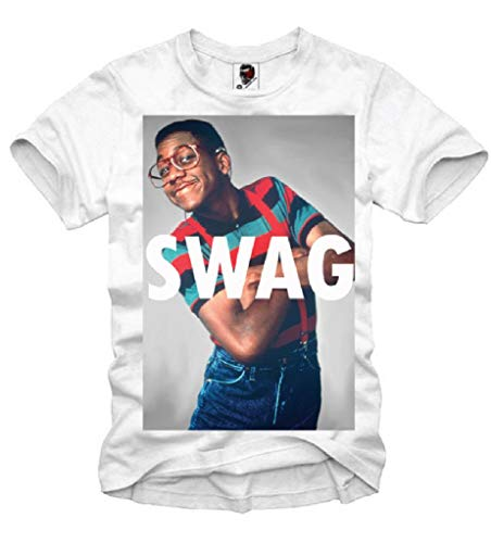 E1SYNDICATE T-SHIRT STEVE URKEL SWAG GEEK HIPSTER ELEVEN HYPE S-XL