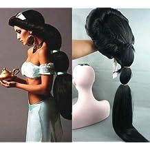 Reino de juguetes - Peluca Jasmine (Aladdín) Adulto/Niña