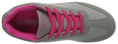 Kappa Rocket, Baskets Basses Mixte Adulte Gris - Grau (1622 grey/pink)