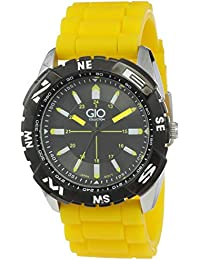 Gio Collection Analog Black Dial Men's Watch - G0008-03