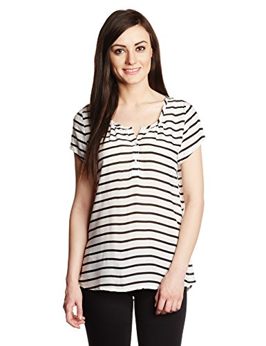 Lamora Women's Tunic Top (40989_White_XL)