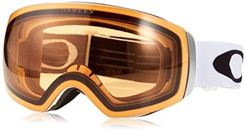 Oakley Flight Deck Skibrille, Unisex, Erwachsene, Weiß