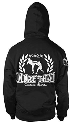 Muay Thai Kapuzen-Sweatshirt Hoodie Pullover MMA Kampfsport Thai-Boxen Fight Club Club-hoodie Sweatshirt